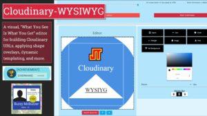 Cloudinary WYSIWYG Beta Promo Image