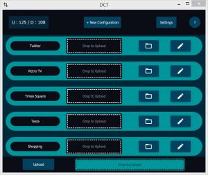 Desktop Cloud Transform - Main UI