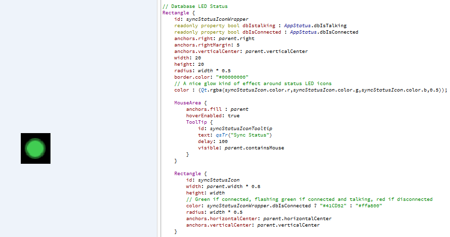Nested Opacity Inheritance in QML and CSS - How does this