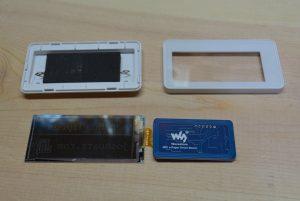 WaveShare 2.9 Inch Passive NFC EInk Module - Teardown (Back)